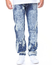 Jeans & Pants - Bleached Out Rip & Repair Jeans