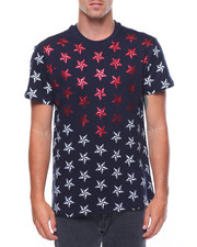 Shirts - Star Print Graphic S/S Tee