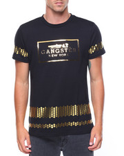 Buyers Picks - Gangster Raised Gold Foil T-shirt