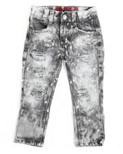 Bottoms - Rip & Repair Denim Jean (2T-4T)