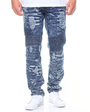 Jeans & Pants - Moto Denim Rip & Repair