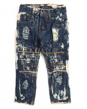 Jeans - Rip Knee Moto Jeans (2T-4T)