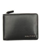 Nautica - Slim Zip-A-Round Billfold Wallet