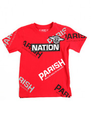 Boys - S/S One Nation Tee (4-7)