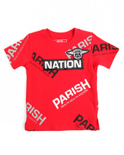 Parish - S/S One Nation Tee (2T-4T)