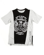 Short-Sleeve - One Nation Cut & Sewn S/S  Tee (8-20)