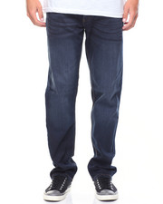 Jeans & Pants - Athletic Fit Fuller Thigh Tapered Bottom Jeans