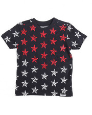 Boys - Switch Americana Star Print Graphic Tee 4-7)