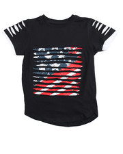Boys - Switch Americana Razor Slashed Tee (4-7)