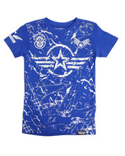 Boys - Americana Patch Printed Tee (8-20)