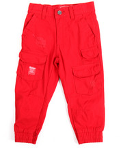 Bottoms - One Nation Canvas Jogger (2T-4T)