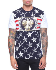 Shirts - American Tee W/Gold Piping