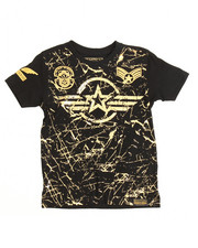 Boys - Switch Americana Patch Printed Tee (4-7)