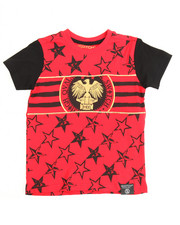 Boys - Switch Americana Tee w/Gold Piping (4-7)