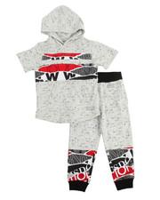 Boys - S/S Back 2 School Hoody & Sweatpants Set (4-7)