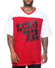 Shirts - Block Style S/S V-Neck Tee (B&T)