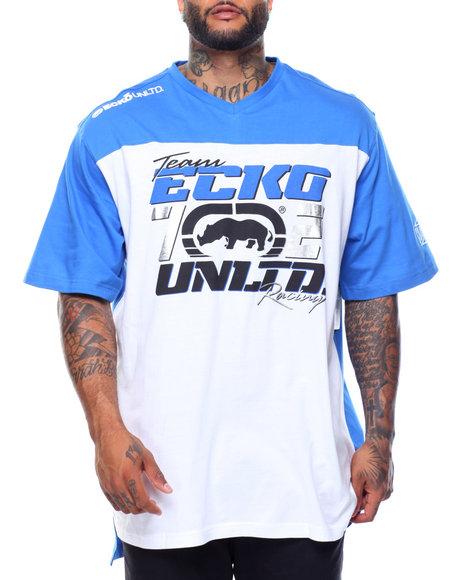 Ecko - Speedway S/S V-Neck Tee (B&T)
