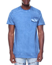 Shirts - S/S Pigment Wash Pocket Tee