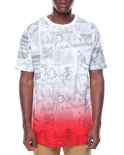 Shirts - Newspaper Print Tee
