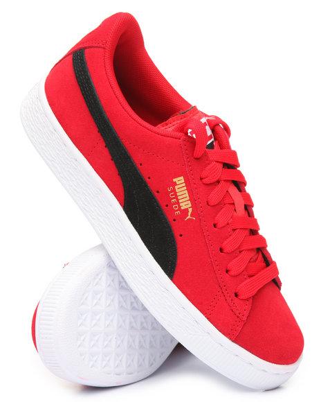 Puma - Suede Jr Sneakers (4-7)