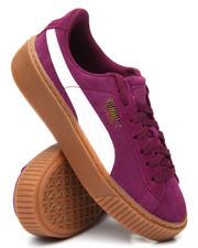 Footwear - Suede Platform Snake Jr Sneakers (4-7)