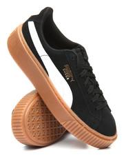 Puma - Suede Platform Snake Jr Sneakers (4-7)