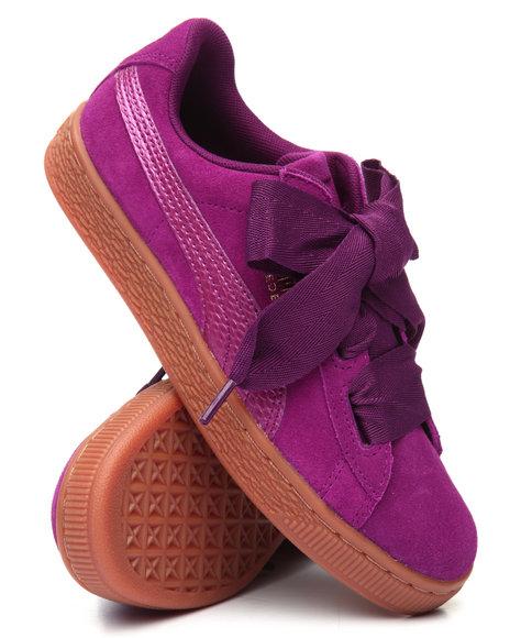 Puma - Suede Heart Jr Sneakers (4-7)