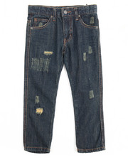Boys - Greenwich Grunge Slim Fit Jean With Repair (4-7)