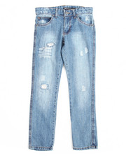 Boys - Greenwich Grunge Slim Fit Jean With Repair (8-20)