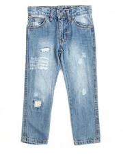 Boys - Greenwich Grunge Slim Fit Jean With Repair (4-7)