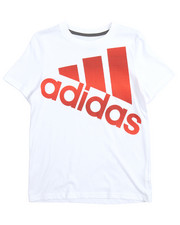 Adidas - Future Stripe Logo Tee (8-20)