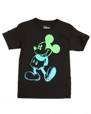 Boys - Glow In The Dark Mickey Tee (4-20)