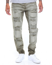 Akademiks - Rocco Rip Core Garment Dye Pant