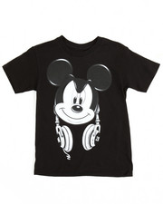 T-Shirts - Mickey Headphones Tee (4-20)