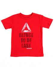 Boys - Refuse To Be Last S/S Tee (4-7)