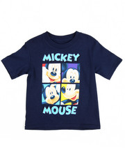 Tops - Boxed Mickey Tee (2T-4T)