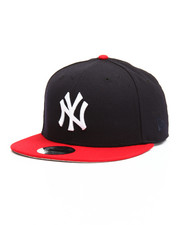 New Era - 9Fifty Navy/Red Yankees Flag Snapback