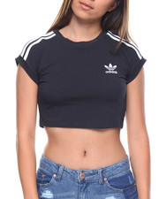 Women - CROP TREFOIL TOP