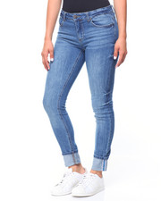 Almost Famous - 5 Pocket Hi-Cuff Jeans