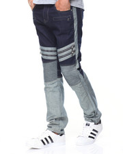 Buyers Picks - 2-Tone Biker Jeans