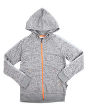Boys - Marled French Terry Hoody (8-20)