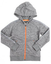 Hoodies - Marled French Terry Hoody (4-7)