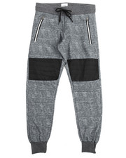 Boys - Zipper Trim Fashion Joggers (8-20)