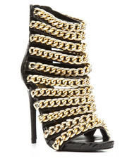 Women - Multi Chain Strap Hi Heel