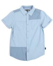 Short-Sleeve - S/S Chambray Patch Woven (8-20)