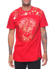 T-Shirts - Foil Print Embossed Tee