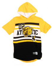 Boys - Athletic Hoodie Tee (8-20)