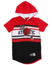 Tops - Athletic Hoodie Tee (4-7)