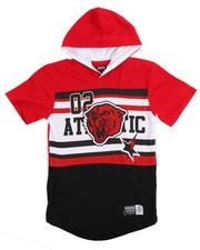 Boys - Athletic Hoodie Tee (8-20)