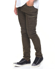 Buyers Picks - Cargo Pockets/Zippers Moto Twill Pants